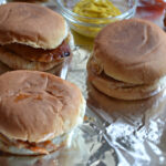 Slow Cooker Large Batch Barbecue Pork Chop Sandwiches
