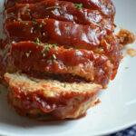 Slow Cooker Turkey Parmesan Meatloaf